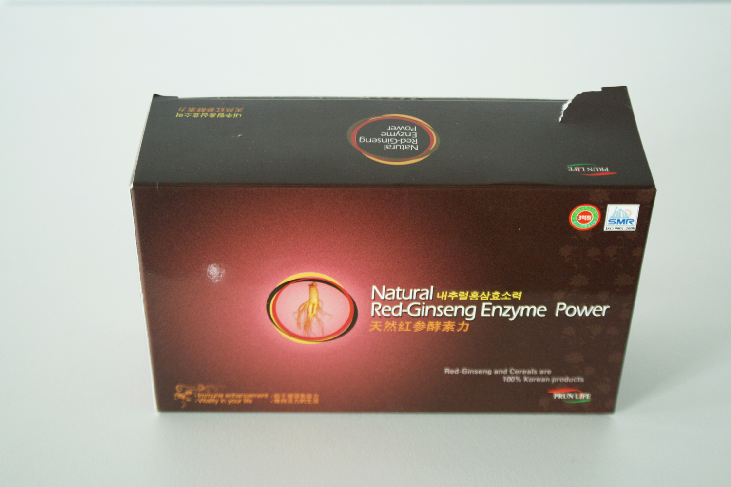 NATURAL RED GINSENG ENZYME POWER