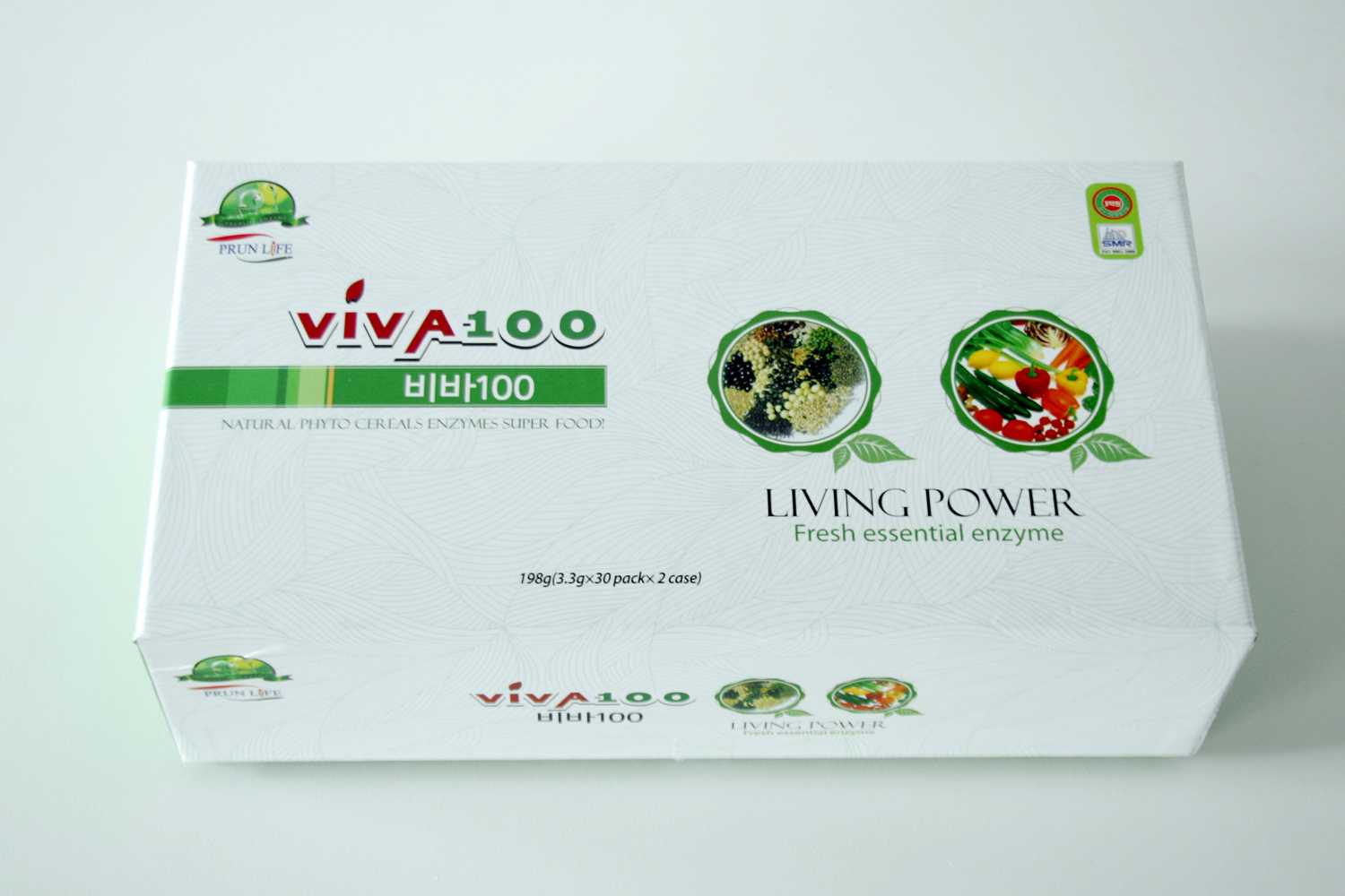 VIVA-100 NATURAL PHYTO CEREALS ENZYME SUPER FOOD